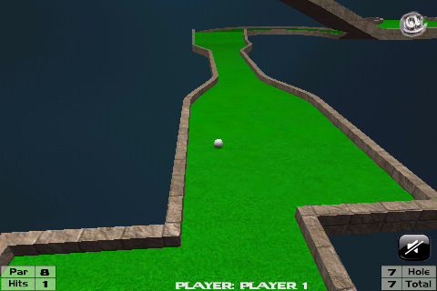 Screenshot MiniGolf 3D